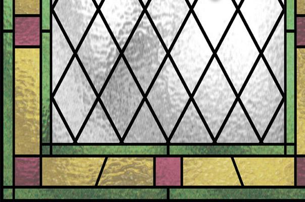 Stained glass window stained glass window film for Stained glass window film