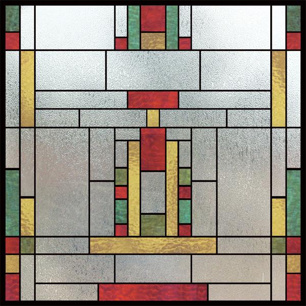 church window film decorative stained glass window film. Black Bedroom Furniture Sets. Home Design Ideas